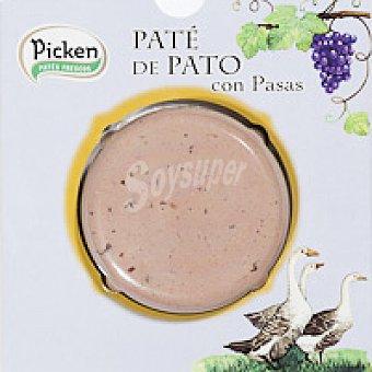 Picken Paté de pato con pasas 75 g