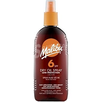 Malibu Aceite solar FP-6 Spray 200 ml