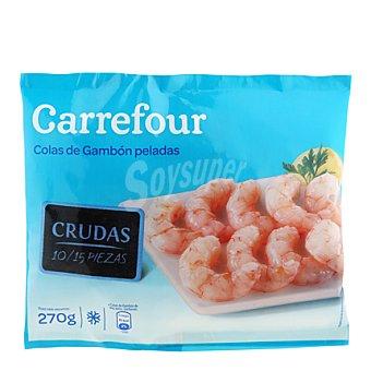 Carrefour Colas de gambón crudas peladas 10/15 280 g