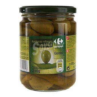 Carrefour Aceituna gordal con guindilla 210 g