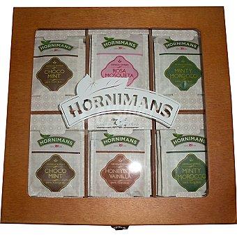 Hornimans Infusiones diversas Estuche de madera Caja 548 g