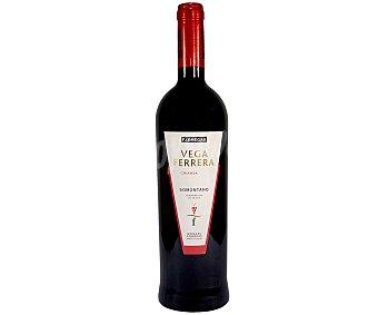 Vega Vino tinto crianza con denominación de origen Somontano ferrera Botella de 75 cl