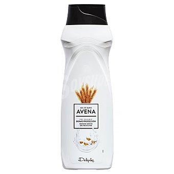 Deliplus Gel de baño dermo protección piel sensible con avena  Botella 75 cl