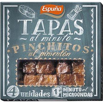 Espuña Pinchitos al pimentón Envase 80 g (4 unidades)