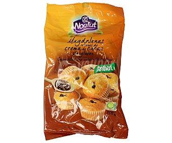 NOGLUT Magdalenas rellenas de crema de cacao sin gluten 195 gramos