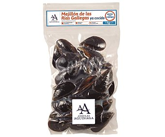 Angulas Aguinaga Mejillón cocido pasteurizado Bolsa de 1 kilogramo