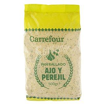 Carrefour Pan rallado de ajo y perejil 500 g