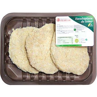 VALARCON Escalopines de lomo empanado peso aproximado Bandeja 310 g