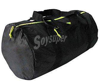 CUP´S Bolsa de deporte plegable fabricada en nylon color negro, 30 litros de capacidad 1 unidad