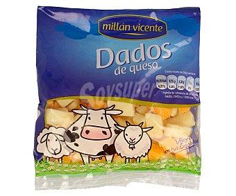 Millan Vicente Dados de queso edam y cheddar 100 gramos