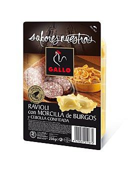 GALLO Sabores Nuestros Raviolis Morcilla y Cebolla Confitada (pasta Fresca) 250 Gramos