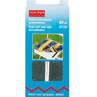 PRYM Velcro adhesivo en color negro de 60 cm x 20 mm