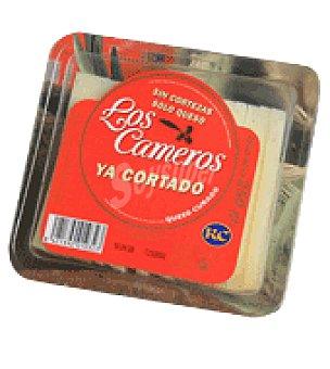 Los Cameros Queso curado loncheado etiqueta roja 250 g
