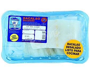 ALKORTA Bacalao Gourmet Bandeja de 500 g