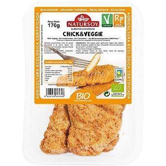 Natursoy Chik & Veggie milanesas de tofu ecologicas envase 170 g Envase 170 g