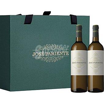 José Pariente Vino blanco verdejo DO Rueda Estuche 2 botellas 75 cl