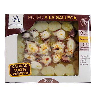 Angulas Aguinaga Pulpo a la gallega con patatas Envase 200 g