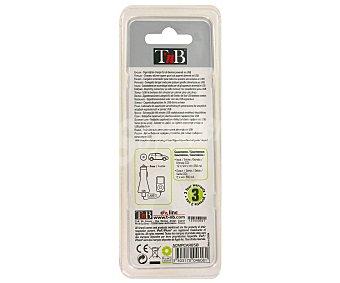 TNB ACMPCAR650 Cargador Coche 650MA USB color negro