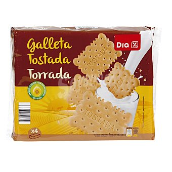 DIA Galletas tostadas envase 800 grs 4 paquetes x 200 grs