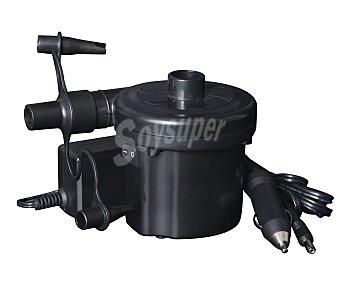 Bestway Hinchador eléctrico con toma de 12V y 230V, adaptadores compatibles para diferentes tipos de válvulas de hinchado. Incluye función deshinchado 1 unidad
