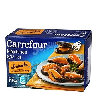 Carrefour Mejillones en escabeche con aceite de oliva 115 g