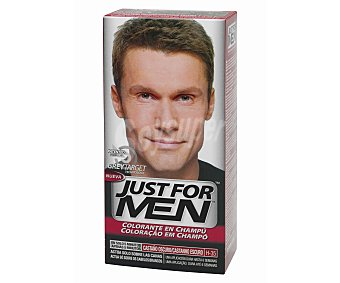 Jus For MEN Colorante en champú castaño oscuro H-35 100 Mililitros