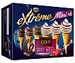 Mini conos surtidos de nata con frutas del bosque (3) o de chocolate absoluto (3) Pack 6 x 60 ml  Extrême Nestlé