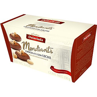 Delaviuda Bombones de chocolate con leche y frutos secos Mediants