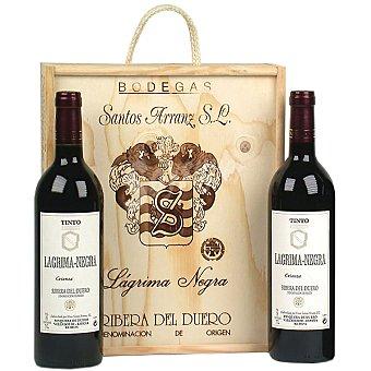 LAGRIMA NEGRA Vino tinto crianza D.O. Ribera del Duero Estuche 2 botellas 75 cl