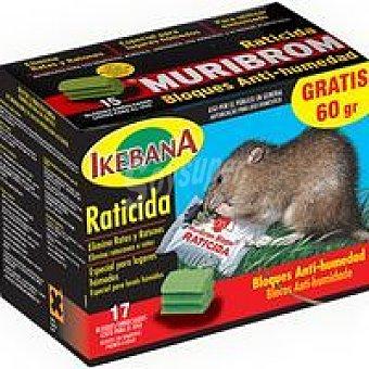 Quimunsa Raticida Muribrom Caja 450 g