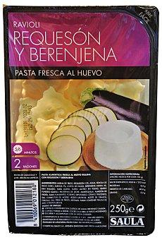 Hacendado Pasta fresca raviolis berenjena y requeson Paquete 250 g
