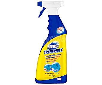 Neutrex Elimina manchas de sudor y desodorante para ropa blanca y de color pistola Transpirex 600 ml