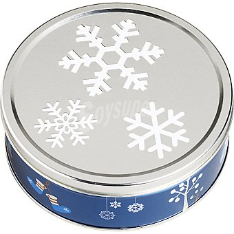 Kelsen winter snowflakes galletas de mantequilla  lata 400 g