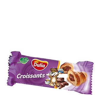 DULIA Croissants con relleno de cacao 160 g
