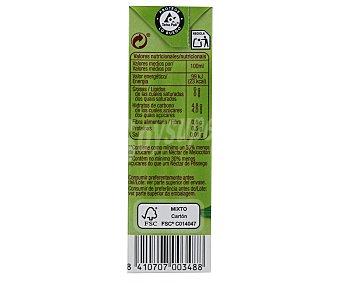 Auchan Néctar sin azúcar añadido de melocotón Brick de 20 centilitros pack de 6