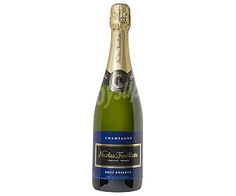 NICOLAS FEUILLATTE Champagne francés brut reserva Botella de 75 cl