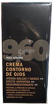 9.60 Crema contorno de ojos masculino Tubo de 15 cc