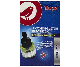 Producto Alcampo Antimosquitos eléctrico líquido sin olor, rrcambio tucyd 33 ml