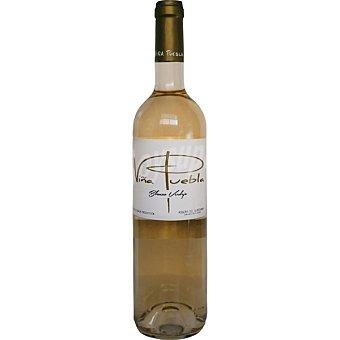 VIÑA PUEBLA Vino blanco verdejo de Extremadura  Botella de 75 cl