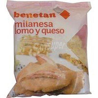 Benetan Milanesa de lomo-queso hig Bolsa 200 g