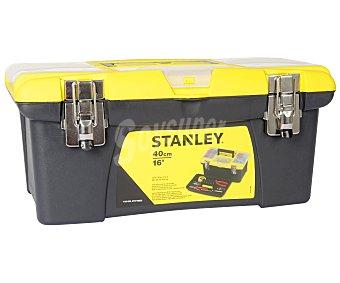 STANLEY Caja de Herramientas de 40 Centímetros, Cierres Metálicos 1 Unidad