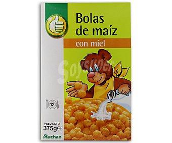 Productos Económicos Alcampo Bolas de cereales con miel 375 gramos