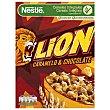 Cereales lion caramelo y chocolate Caja 400 gr Nestlé