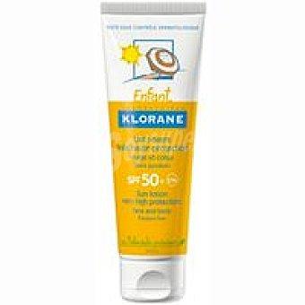 Klorane Crema solar hidratante 50+ Tubo 50 ml