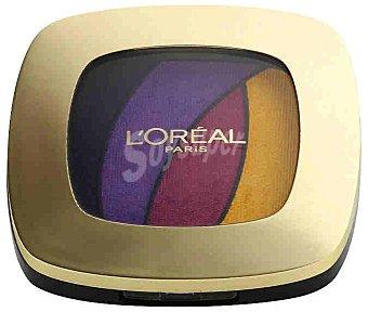 L'Oréal Paris Sombra de Ojos Fap Quad S3 Color Richie l'oréal 1 ud
