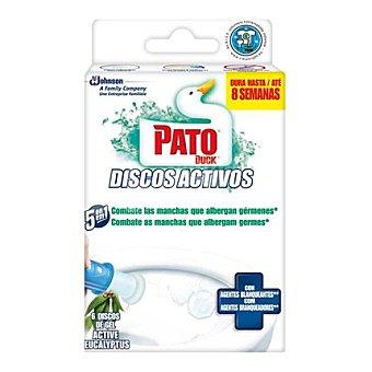 Pato Discos activos lejía aroma eucalipto 1 ud