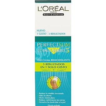L'OREAL BODY EXPERTISE Perfect Slim Total cuerpo 5 gel crema remodelante Tubo 150 ml