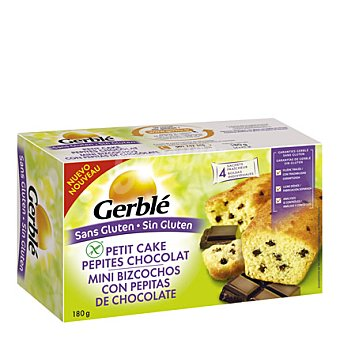Gerblé Mini bizcochos con pepitas de chocolate - Sin Gluten 160 g