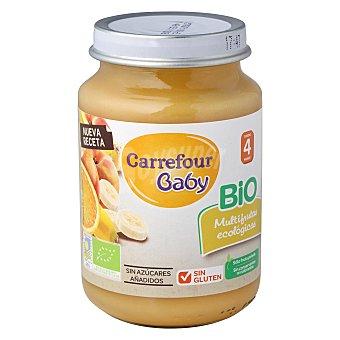 Carrefour Bio Tarrito multifrutas 200 g
