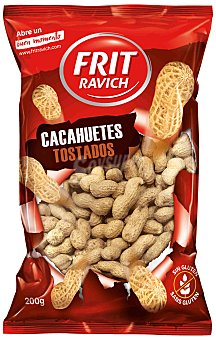 Frit Ravich Cacahuetes tostados sin gluten 200 g